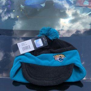 Jacksonville Jaguars Boys NFL Thermal Pom Beanie